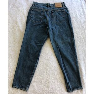 Vintage Levi's 550 USA Made High Rise Mom Jeans